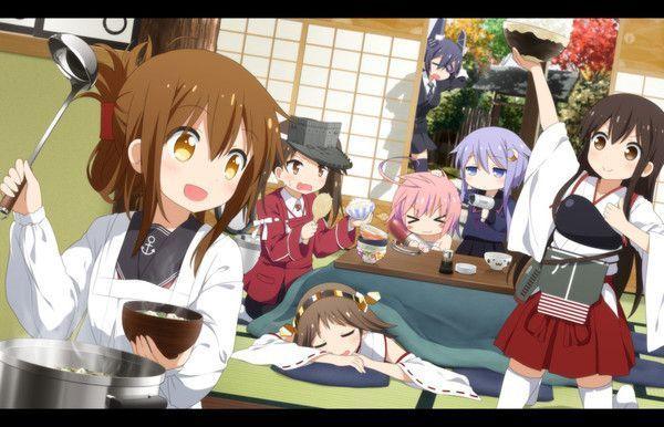 dessin manga qui cuisine