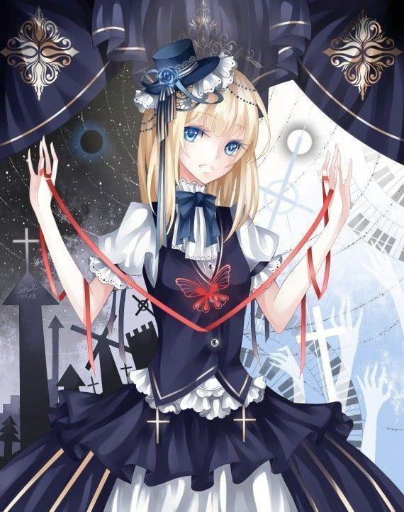 Manga fille gothique nouveau - Fille manga image ...
