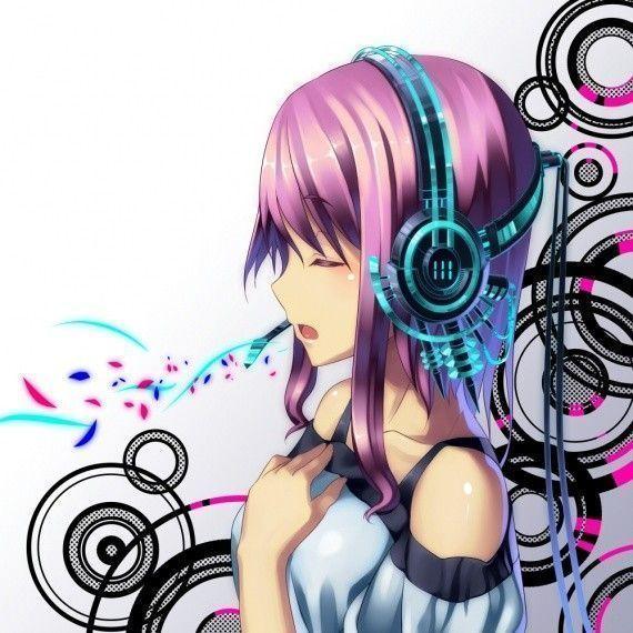 Wallpaper Manga Musique