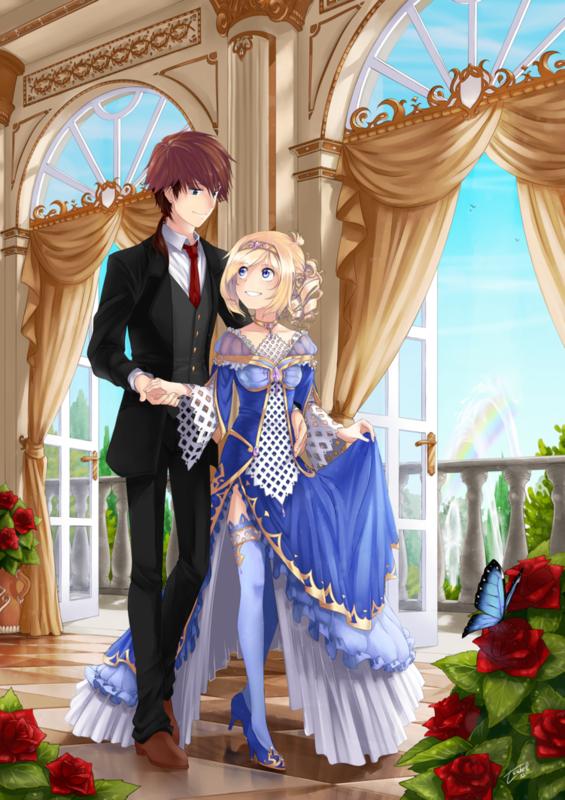 Manga princesse - Prince et princesse dessin ...