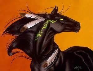 Manga animaux - Dessin de cheval magnifique ...